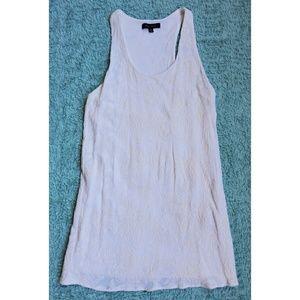 Honey Punch white and off white mini dress